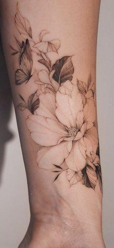 Pretty Tattoos, Beautiful Tattoos, Cool Tattoos, Tatoos, Body Art Tattoos, Small Tattoos, Sleeve Tattoos, Rosen Tattoo Frau, Feminine Tattoos