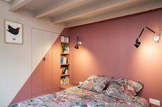 Linge de lit Olivier Desforges / Appliques Tolomeo Micro Wall d'Artemide.