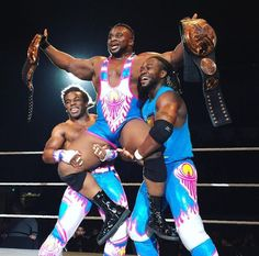 The New Day as WWE Tag Team Champions