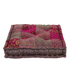 Another great find on #zulily! New Delhi Square Meditation Cushion #zulilyfinds