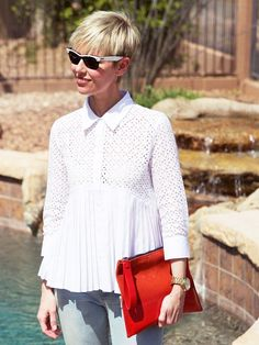 Meet the Stylish Fashion Bloggers Over Age 40 via @WhoWhatWear