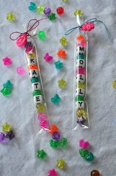 Make Personalized Bracelet Kits - Kids' Birthday Party Favors That'll Bring Joy To Everyone - Photos