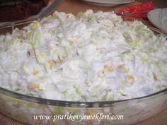 gobek marullu tavuk salatasi