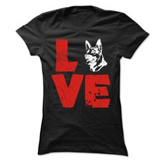 LOVE, Order HERE ==> https://www.sunfrogshirts.com/Pets/LOVE-64241701-Guys.html?6432, Please tag & share with your friends who would love it, #superbowl #xmasgifts #christmasgifts  #german shepherd dog art, #german shepherd dog white, german shepherd dog long haired  #family #posters #kids #parenting #men #outdoors #photography #products #quotes