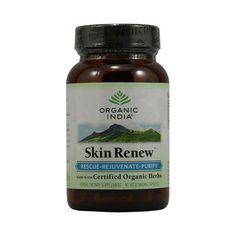 Organic India Skin Renew (90 Veg Capsules)
