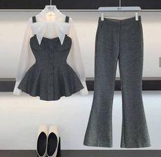New Fashion Style Hijab Pants 58 Ideas Muslim Fashion, Hijab Fashion, Korean Fashion, Fashion Dresses, Girls Fashion Clothes, Girl Fashion, Classy Outfits, Chic Outfits, Trendy Fashion