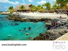 LGBT ALL INCLUSIVE AL CARIBE. Viajar te brinda una gran sensación de libertad y una de las mejores formas de disfrutarla, es en las playas del Caribe. Cancún es uno de los destinos favoritos para romper la rutina y descubrir con tu pareja sus diferentes atractivos turísticos como Cozumel, un lugar increíble para practicar snorkeling por tener el segundo arrecife más grande del mundo. Adquiere tu pack de Booking Hello y lánzate a la aventura. #bookinghello