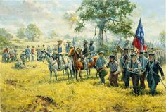 """Battle of Wilson's Creek Springfield, Missouri by Andy Thomas """"Don't Yield an Inch"""""""