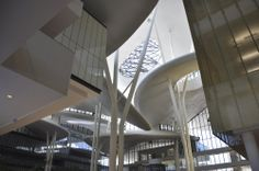 Tbilisi Public Service Hall by Studio Fuksas A As Architecture, Service Public, Inspiration Design, Library Design, Modern Buildings, Studio, Georgia, Inspirational, Interiors