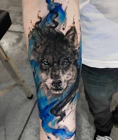 For some stunning wolf tattoos plus free original wolf tattoo designs check out tattoo insiders list of the very best wolf tattoos and wolf tattoo designs. Wolf Tattoo Design, Forearm Tattoo Design, Forearm Tattoo Men, Indian Tattoo Design, Forearm Sleeve, Wolf Tattoo Back, Wolf Tattoo Sleeve, Sleeve Tattoos, Tattoo Wolf