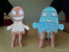 teatrillo para titeres dedo - Buscar con Google