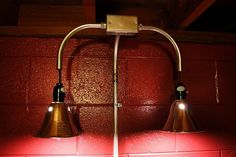 cool industrial style lamp