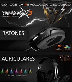 Conoce el gaming revolution con ThunderX3
