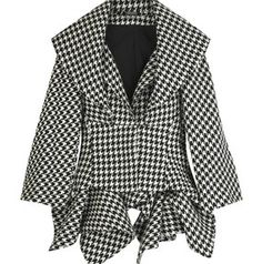 Did you know that the houndstooth checks pattern originated in woven wool cloth of the Scottish Lowlands?