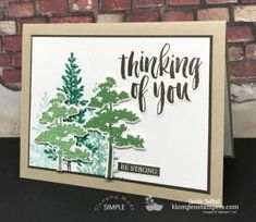 Looking for Masculine cards? Lots of card design ideas for guys in this post featuring Stampin' Up Rooted in Nature Designer Series Paper. These are quick cards to make and easy cards at that!