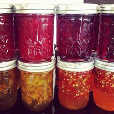Canning Recipes-Time to make jam!