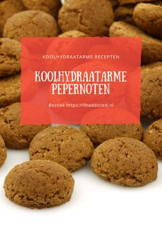 Koolhydraatarme Pepernoten Always wanted to make your own low-carb pepernuts? It is easy, fast and a delicious responsible snack for in between. Pureed Food Recipes, Dessert Recipes, Desserts, Healthy Cake, Healthy Baking, Healthy Recepies, Healthy Snacks, Low Carb Protein, Low Calorie Recipes