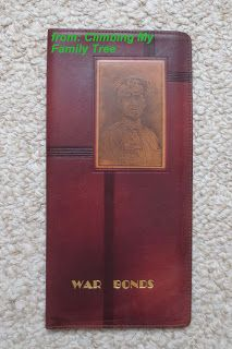 Climbing My Family Tree: Treasure Chest Thursday: Who's the General on This War Bonds Wallet? #genealogy