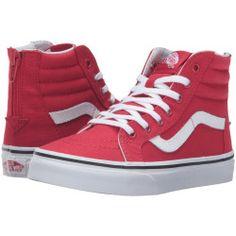 3573590-p-2x Best Deal Vans Kids  Sk8Hi Zip (Little Kid/Big Kid) ( (Varsity) Racing Red/True White) Boys Shoes
