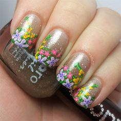 It's like a secret garden on your fingers!