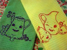 Happy Tea Towels