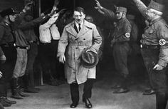 Edgar Feuchtwanger was 8 when he first saw Adolf Hitler on a Munich street. They would be neighbors for nine years as Hitler transformed Germany into a dictatorship. Hanna Reitsch, Cultura General, Shocking Facts, Historian, World War Ii, Wwii, Christianity, Daily Mail, April 20