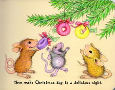 House Mouse Christmas page 19.