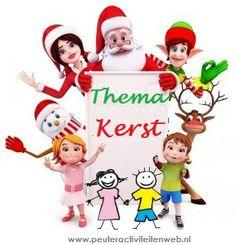 Thema Kerst. De kinderen maken oa een Kerststal waar ze mee kunnen spelen. Plezier voor groot en klein.  www.peuteractiviteitenweb.nl