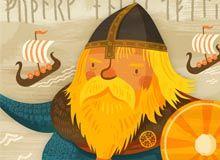 vikings by Wesley Robins HEY,,,,,NO HORNS !!!