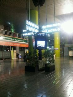 Gambir train station 2.37 AM