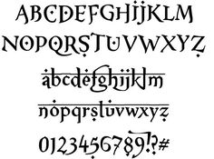 Graffiti Alphabet Letters Harry Potter style. | ideas for ...