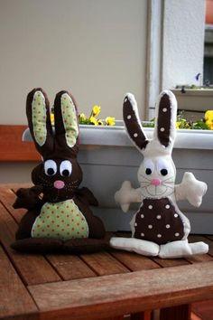 Doudou lapin (deux tutos et patrons) Tutos / DIY - Isastuce