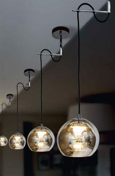 Usona Pendant 10063 - Love that they hang with such precision & such verticality