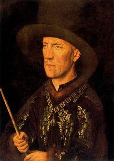 Baudoin de Lannoy, by Jan van Eyck