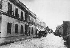 Hotel Comercio de Concepción en la calle del mismo nombre