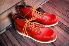 """Red Wing 6"""" inch Moc Toe #8131"""