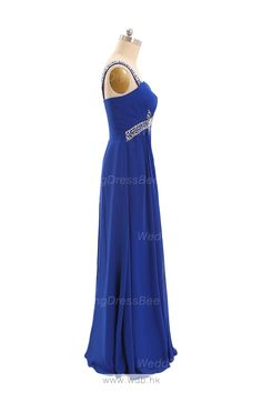 Beading Straps Sweetheart Floor Length Evening Dress $139.53
