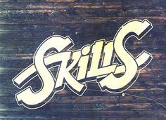 Skills that pay the bills [2013] by Daniel Cobas, via Behance