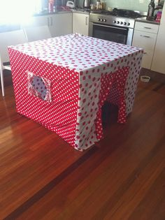 Girls table cubby house
