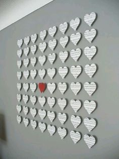 Valentine's Day Wall Art - The Greatest 30 DIY Decoration Ideas For Unforgettable Valentine's Day