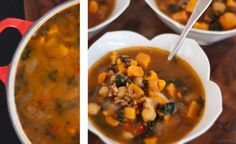 Vegan Sweet Potato, Kale and Chickpea Soup - Cookie and Kate