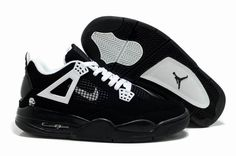Buy Nike Air Jordan 4 IV Retro Mens Shoes Black White Outlet Cheap To Buy  from Reliable Nike Air Jordan 4 IV Retro Mens Shoes Black White Outlet Cheap  To ... ffdbcd617