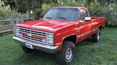 1987 Chevrolet K10 4×4 Pickup truck