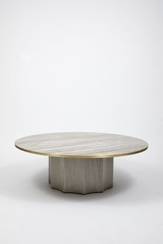 Normandie Cocktail Table in Grey Washed Oak by Lawson-Fenning
