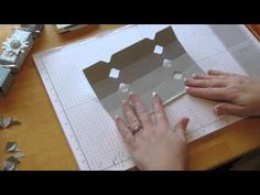 ▶ Stampin Up Tutorial - How to make Crackers & work out the measurements with your Envelope Board - YouTube