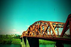 One of the many awesome Portland bridges on a sunny day!