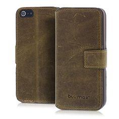 Blumax Apple iPhone 5/5s/SE Ultra-Slim Echtleder Flip-Cas... https://www.amazon.de/dp/B00BFBMJBQ/ref=cm_sw_r_pi_dp_gFawxbB9FCBTP