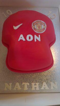 Manchester utd cake