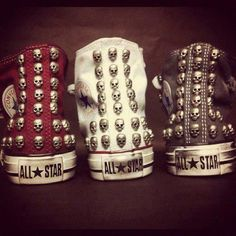 Converse Skull <3 omg I have to have!!! ♥