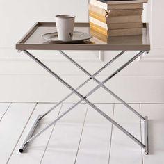 Tabletttisch in Grau klappbar Jetzt bestellen unter: https://moebel.ladendirekt.de/wohnzimmer/tische/beistelltische/?uid=9320991c-2df7-5617-a901-b2fb6e1366cc&utm_source=pinterest&utm_medium=pin&utm_campaign=boards #tischgestell #sofa #wohnzimmertisch #beistelltisch #anstelltisch #beistelltische #vollholzdoppelbett #klapptisch #tische #klappbar #beistelltischchen #beitisch #tisch #wohnzimmer